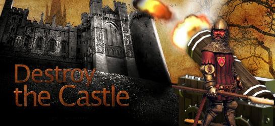 Destroy the Castle Game - Action Games