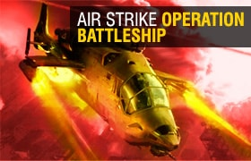 Air Strike Operation Battleship Game