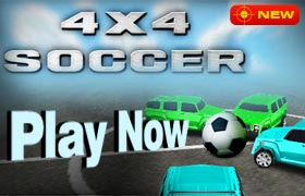 4x4 Soccer Game - New Games