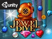 Jewel Dive Game - New Games