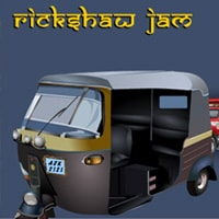 Rickshaw Jam Game - New Games