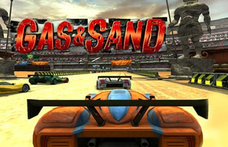 Gas and Sand Game - Racing Games