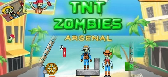 TNT Zombies - Arsenal Game - Zombie Games