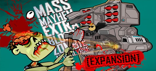 Mass Mayhem-Zombies Expansion Game - Zombie Games