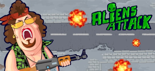 Aliens Attack Game - Action Games