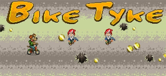 Bike Tyke Game - Sports Games