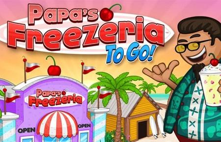 Papa's Freezeria Game - Strategy Games
