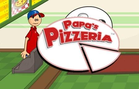 Papa's Pizzeria Game - Strategy Games