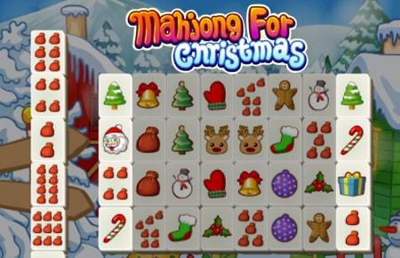 Mahjong for Christmas Game - Arcade Games