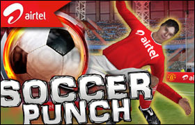 Soccer Punch Game - Football Games
