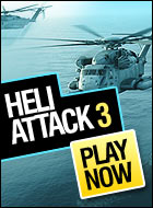 Heli Attack 3 Game - Action Games