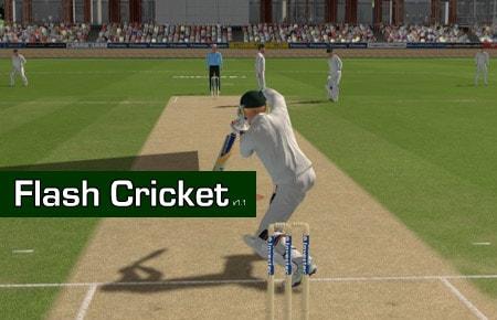 Flash Cricket Game - Cricket Games