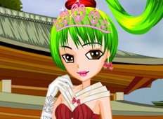 Cute Anime Princess Game - Girls Games
