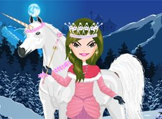 Winter Princess Game - Girls Games