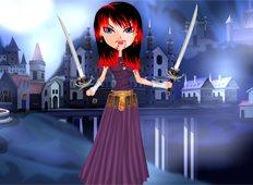 Vampire Warrior Game - Girls Games