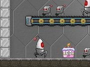 Robot Cake Defender Game - New Games