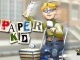 Paper Kid Game - New Games