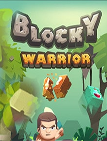 Blocky Warrior Game - Adventure Games