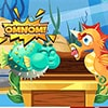 Sea Monster Food Duel Game - Arcade Games