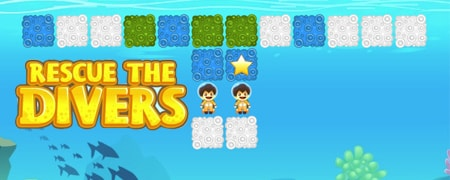Rescue the Divers Game - Strategy Games