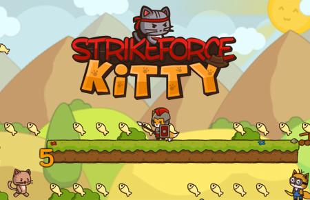 Strike Force Kitty Game - Arcade Games
