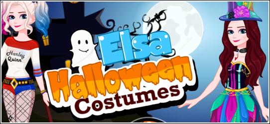 Elsa Halloween Costumes Game - Girls Games