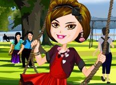 Swing Girl Game - Girls Games