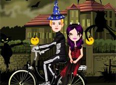 Halloween Ride Game - Girls Games