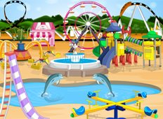 Dream Theme Park Game - Girls Games