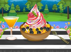 Frozen Yogurt Game - Girls Games