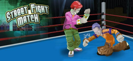 Street Fight Match Game - Action Games